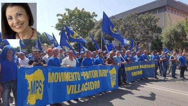 """Protesta dei pastori, Claudia Zuncheddu: """"Bisogna evitare ..."""