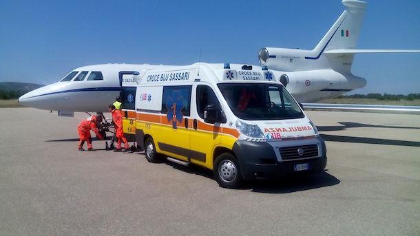 Tre voli sanitari d'urgenza dell'Aeronautica per salvare ...