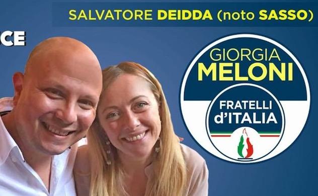 Politiche. Fratelli d'italia la gioia del neoeletto Sasso Deidda