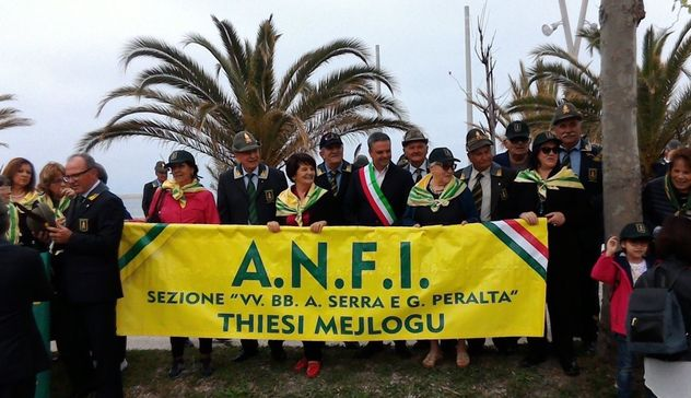 La sezione Thiesi-Meilogu al ventesimo raduno nazionale Anfi
