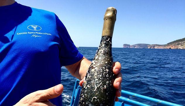 È sardo il primo Vermentino DOC subacqueo a ottenere 88/100 su Wine Spectator