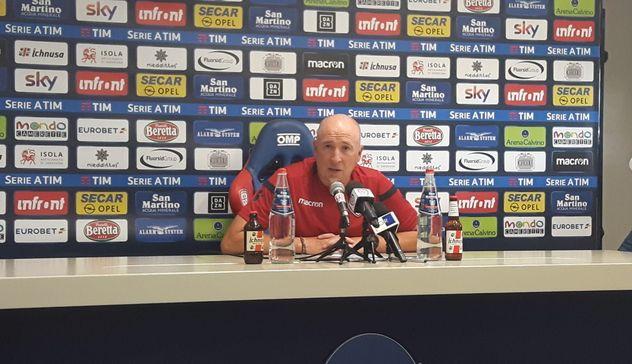 """Cagliari-Sampdoria Maran """"Affrontiamo una squadra collaudata. Pavoletti? Buone chance"""""""