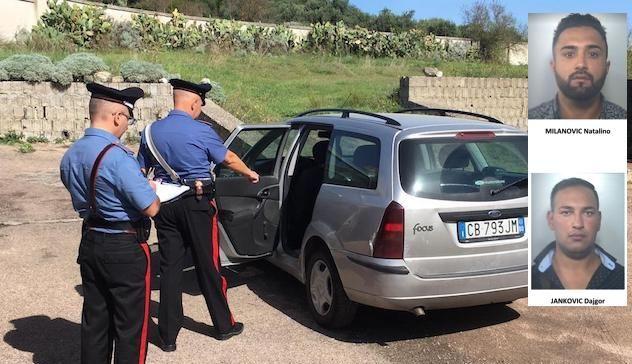 Furti a Pattada, Bonnanaro, Erula, Mores, Uri e Oschiri: 4 arresti