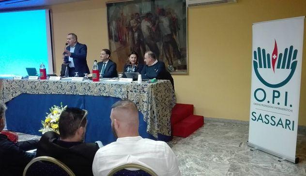 Convegno Opi Sassari: Antonio D'Urso: «Il ruolo centrale degli infermieri per rifondare l'ospedale»