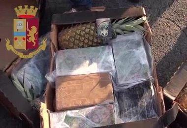 Cocaina da Santo Domingo: imprenditore sardo in manette. La droga nascosta fra gli ananas