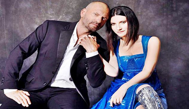 Laura Pausini e Biagio Antonacci in concerto a San Siro