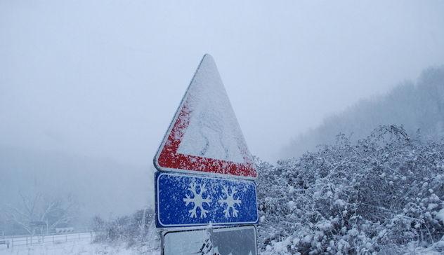 Torna la neve in Abruzzo: allerta meteo da mercoledì notte
