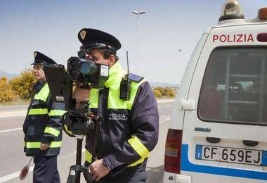 Polizia Locale: rilevamento della velocità fino al 17 marzo