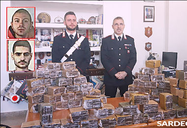 Sant'Elia, stroncato giro d'affari da 500mila euro. 104 chili di droga pronti allo smercio. Ecco chi sono gli arrestati