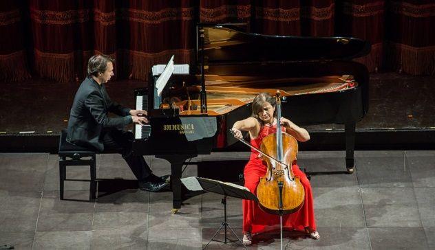 Due bis e lunghi applausi al Verdi per Silvia Chiesa e Maurizio Baglini