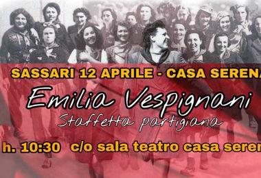 A Emilia Vespignani la tessera Anpi ad honorem