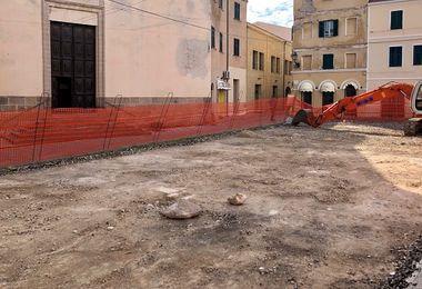 Giovedì la ripresa dei lavori in piazza Ginnasio