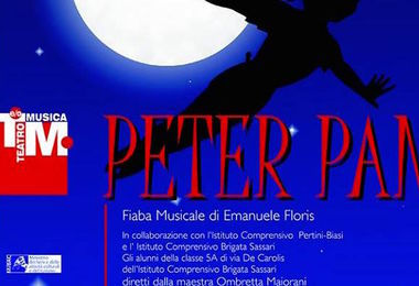 """Peter Pan"" arriva al teatro Verdi"