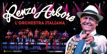Renzo Arbore lunedì 22 aprile in Piazza Sulis