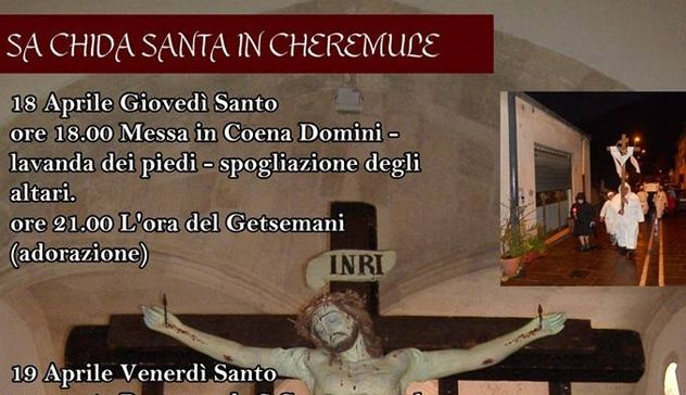 """Entra nel vivo sa """"Chida Santa"""" di Cheremule"""