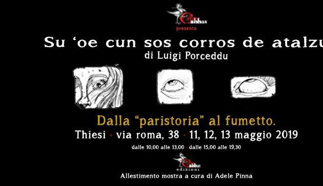 """""""Su 'oe cun sos corros de atalzu"""", sabato 11 maggio la presentazione del fumetto di Luigi Porceddu"""