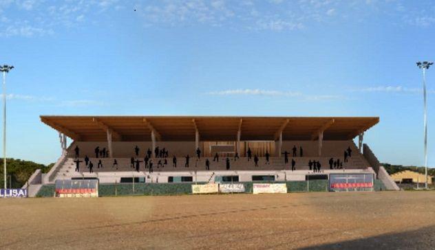 "Il ""Rocca Ruja"" avrà la nuova tribuna coperta"