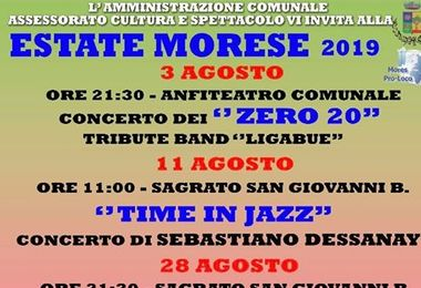 Al via l'estate morese 2019